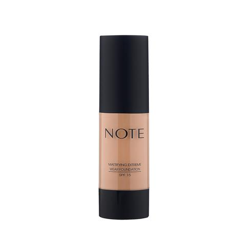 Note Cosmetics Mattifying Extreme Wear Foundation 35ml (Various Shades) - 106 Soft Henna