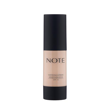 Note Cosmetics Mattifying Extreme Wear Foundation 35ml (Various Shades) - 103 Pale Almond