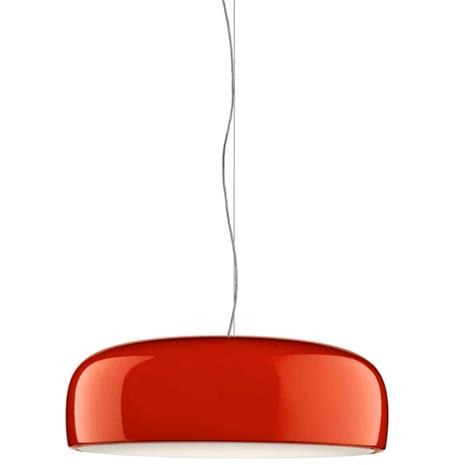 Flos Smithfield Suspension Pendant, Red