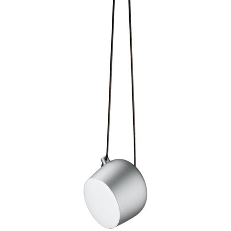 Flos Aim Pendant, Light Silver Anodized