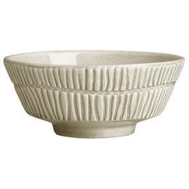 Mateus Stripes Bowl, Sand 50 cl