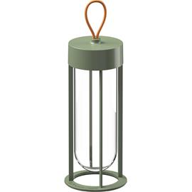 Flos In Vitro Unplugged Table Lamp, Pale green