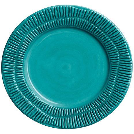 Mateus Stripes Plate, Ocean 20 cm