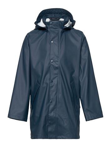 name it Nkmdry Long Jacket Fo Outerwear Rainwear Jackets Harmaa Name It MIDNIGHT NAVY