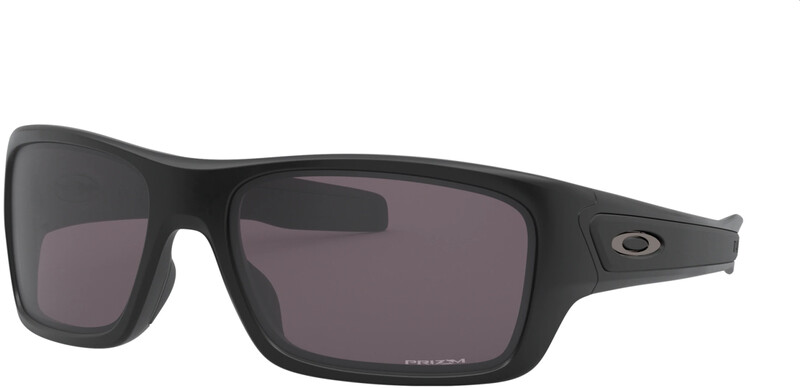 Oakley Turbine XS Sunglasses Youth, harmaa/musta, Korut, rannekellot, lompakot ja aurinkolasit