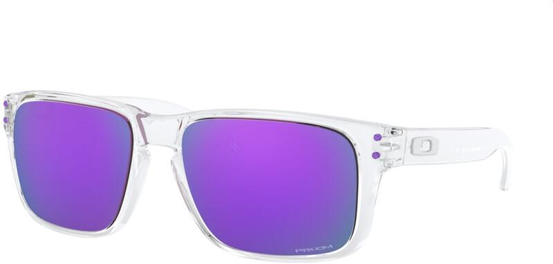 Oakley Holbrook XS Sunglasses Youth, violetti/läpinäkyvä, Korut, rannekellot, lompakot ja aurinkolasit