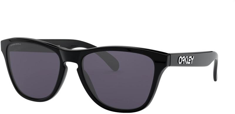 Oakley Frogskins XS Sunglasses Youth, harmaa/musta, Korut, rannekellot, lompakot ja aurinkolasit