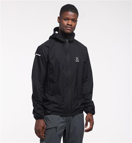 Haglöfs L.I.M PROOF Multi Jacket Men - Miehet - M - True Black