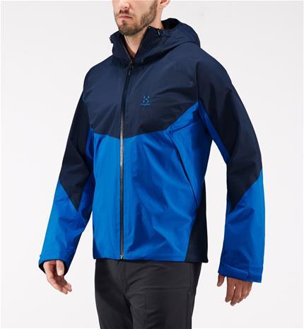 Haglöfs Virgo Jacket Men - Miehet - XXL - Storm blue/tarn blue
