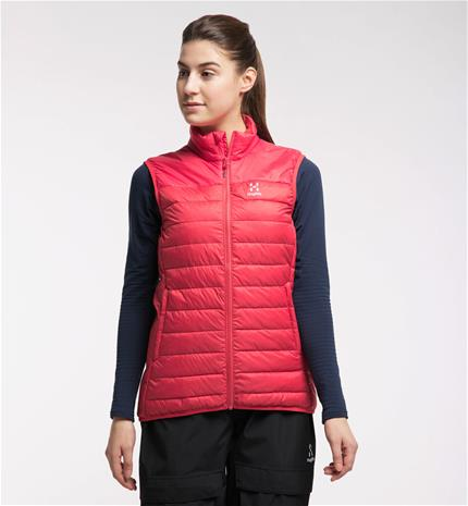 Haglöfs Spire Mimic Vest Women - Naiset - L - Hibiscus red