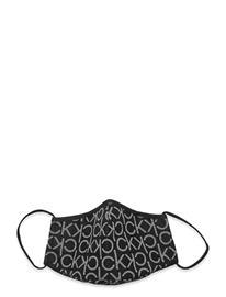 Calvin Klein Face Cover Single Mono Accessories Face Masks Musta Calvin Klein BLACK MONO
