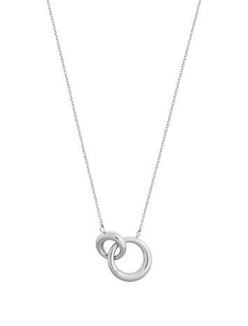 Edblad Furo Necklace Steel Accessories Jewellery Necklaces Dainty Necklaces Hopea Edblad STEEL