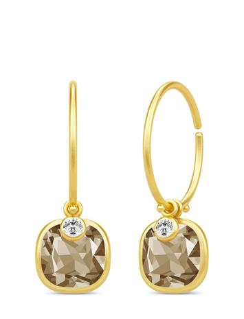 Julie Sandlau Olivia Mini Hoops Accessories Jewellery Earrings Hoops Kulta Julie Sandlau GOLD