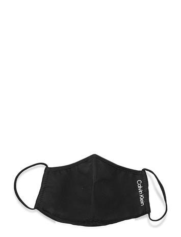 Calvin Klein Face Cover Single Accessories Face Masks Musta Calvin Klein CK BLACK