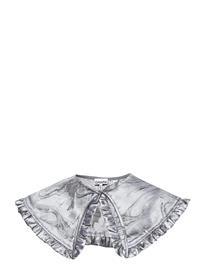 Ganni Shiny Jacquard Accessories Collars Hopea Ganni SHARKSKIN