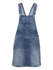 Tommy Jeans Classic Dungaree Dress Ambc Dresses Jeans Dresses Sininen Tommy Jeans AMES MB COM