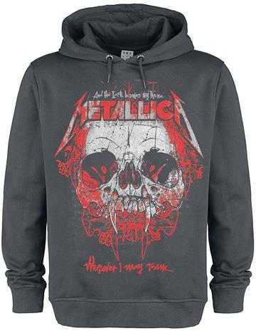 Metallica - Amplified Collection - Wherever I May Roam - Huppari - Miehet - Hiilenharmaa