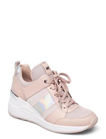 Michael Kors Georgie Trainer Matalavartiset Sneakerit Tennarit Vaaleanpunainen Michael Kors SOFT PINK