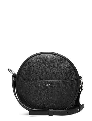 HUGO Lexi Crossbody N Bags Small Shoulder Bags - Crossbody Bags Musta HUGO BLACK