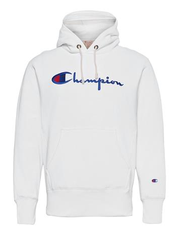 Champion Reverse Weave Hooded Sweatshirt Huppari Valkoinen Champion Reverse Weave WHITE