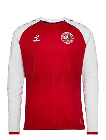 Hummel Dbu 20/21 Home Jersey L/S T-shirts Football Shirts Punainen Hummel TANGO RED