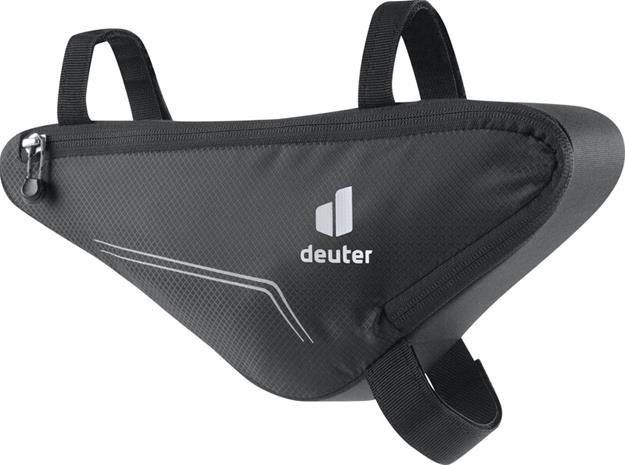 deuter Front Triangle Bag, musta, Kypärät, suojukset ja tarvikkeet