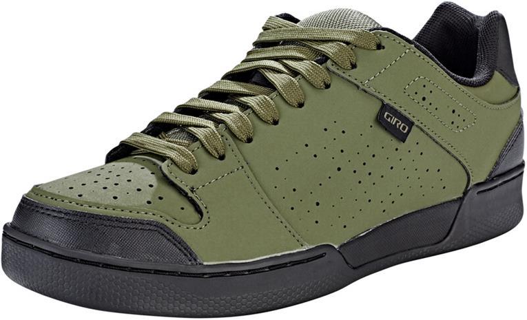 Giro Jacket II kengät Miehet, musta/oliivi, Kypärät, suojukset ja tarvikkeet