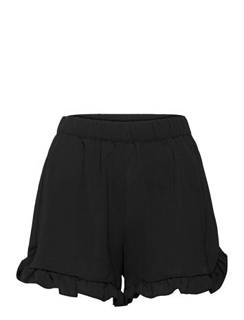 ONLY Onlnova Lux Frill Shorts Solid Wvn Shorts Flowy Shorts/Casual Shorts Musta ONLY BLACK