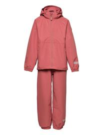 name it Nkfmint Set Fo Outerwear Softshells Softshell Sets & Suits Vaaleanpunainen Name It MAUVEWOOD