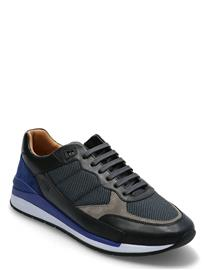 BOSS Element_runn_namx Matalavartiset Sneakerit Tennarit Musta BOSS OPEN BLUE