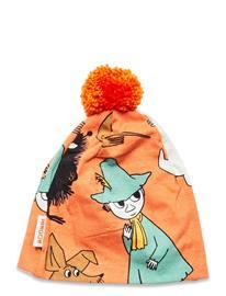 Mumin Guard Turn Beanie Accessories Headwear Hats Oranssi Mumin ORANGE