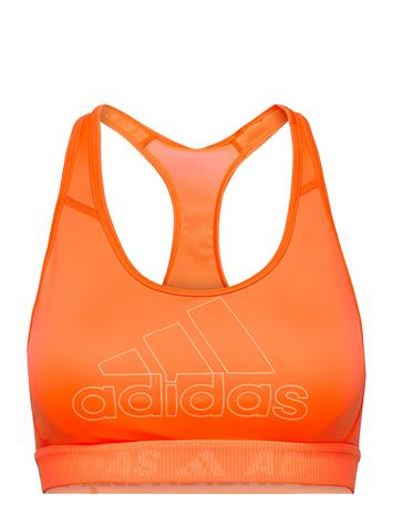 adidas Performance Don'T Rest Badge Of Sport Bra W Lingerie Bras & Tops Sports Bras - ALL Oranssi Adidas Performance SCRORA/ACIORA
