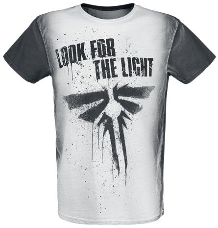The Last Of Us - Firefly - Look For The Light - T-paita - Miehet - Harmaa
