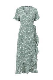 Vero Moda Maksimekko vmSaga 2/4 Wrap Frill Ankle Dress