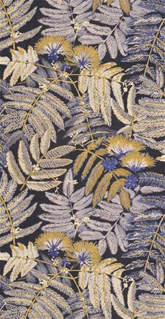 Kuitutapetti Botanica Albizia Jaune Curry