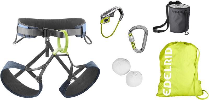 Edelrid Climbing Package Harness, assorted