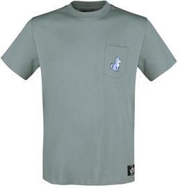 Monster Hunter - Rise - Felyne - T-paita - Naiset - Sininen
