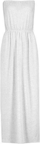 Sublevel - Maxi Bandeau Dress - Pitkä mekko - Naiset - Vaaleanharmaa