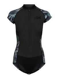 Helly Hansen W Waterwear Swimsuit Uimapuku Uima-asut Musta Helly Hansen BLACK