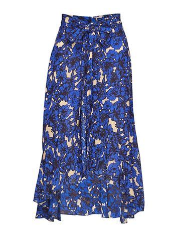 RODEBJER Rodebjer Malika Flower Polvipituinen Hame Sininen RODEBJER INTENSE BLUE