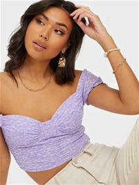 Kiss The Sky Hearts Floral Mesh Crop Top