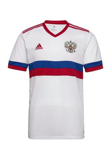 adidas Performance Russia 2020 Away Jersey T-shirts Football Shirts Valkoinen Adidas Performance WHITE/TMPWRD