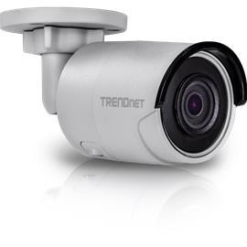 TrendNet Indoor / Outdoor 4MP H.265 WDR PoE IR Bullet Network Camera TV-IP1314PI, valvontakamera