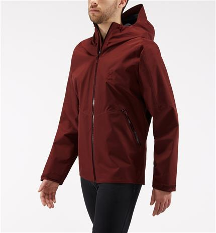 Haglöfs Merak Jacket Men - Miehet - XL - Maroon red