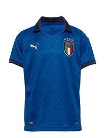 PUMA Figc Home Shirt Replica Jr T-shirts Football Shirts Sininen PUMA TEAM POWER BLUE-PEACOAT