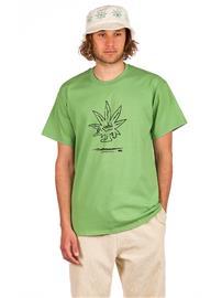 HUF Easy Green T-Shirt dill green Miehet, Miesten paidat, puserot ja neuleet