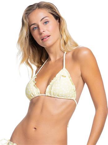 Roxy PT Mind Of Freedom Tiki Tri Bikini Top pale banana kuta dots s Naiset