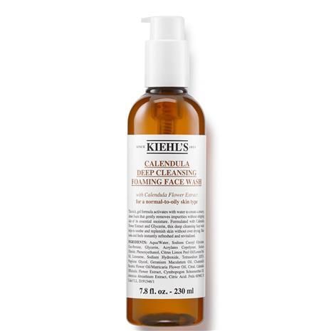 Kiehl's Calendula Deep Cleansing Foaming Face Wash (Various Sizes) - 230ml, Meikit, kosmetiikka ja ihonhoito