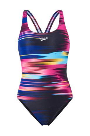 Speedo Uimapuku Placement Digital Powerback Swimsuit
