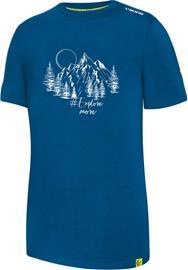 Viking Europe Bamboo Light T-Shirt Men, sininen, Miesten paidat, puserot ja neuleet